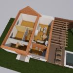Rodinný dom ČERMÁŇ vizualizácia